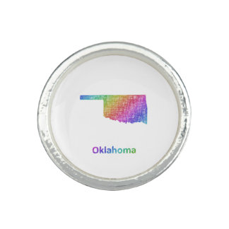 Oklahoma Anillos Con Foto