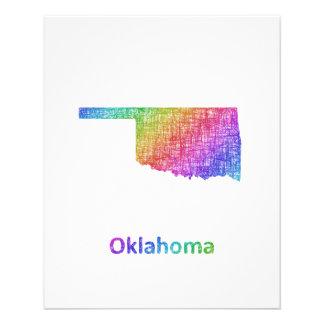 Oklahoma Folleto 11,4 X 14,2 Cm