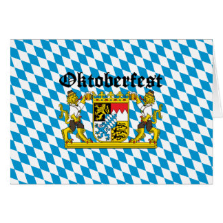 Oktoberfest - Leones con cerveza Tarjeton