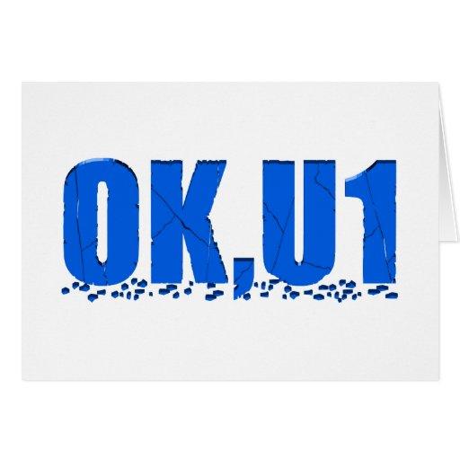 OKU1 en azul Tarjetón