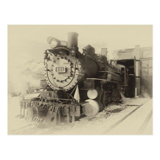 Ol 491 del museo del ferrocarril de Colorado Postal