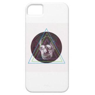 Old skull iPhone 5 cárcasa