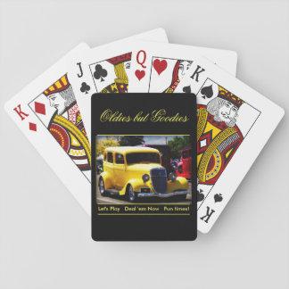 Oldies pero chucherías barajas de cartas