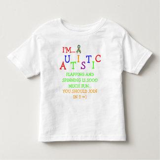 ¡Olimpiadas autísticas! Camiseta del niño del ~