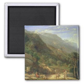 Olivares en Varenna, lago Como, Italia, 1861 (o Imán De Frigorífico