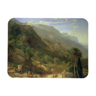 Olivares en Varenna, lago Como, Italia, 1861 (o Imán
