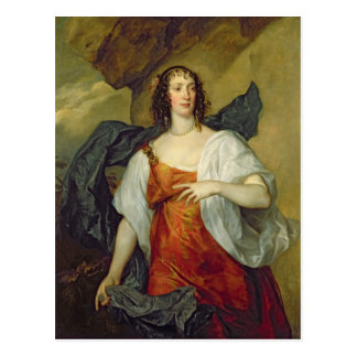 Olivia, esposa del portero de Endymion, c.1637 Postales