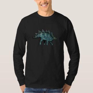 Olmo y Stegosaurus de Paua Shell Camiseta