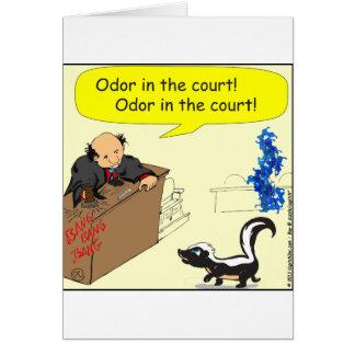 olor 471 en el dibujo animado de la corte tarjeta