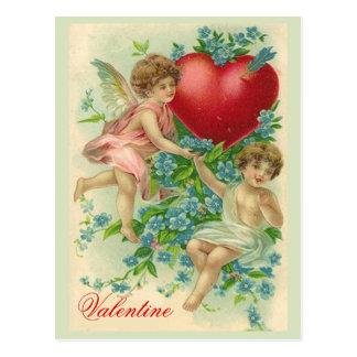 Olvídeme tarjeta del día de San Valentín del nudo Postal