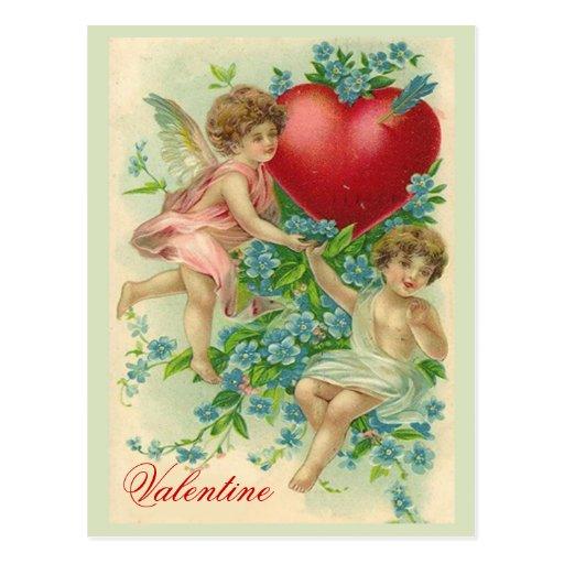 Olvídeme tarjeta del día de San Valentín del nudo Tarjeta Postal