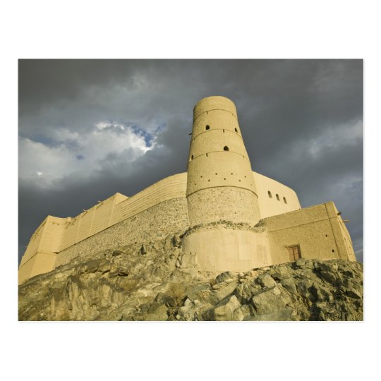 Omán, montañas occidentales de Hajar, Bahla. Postal