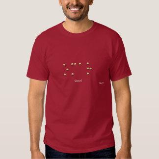 Omar en Braille Camisas