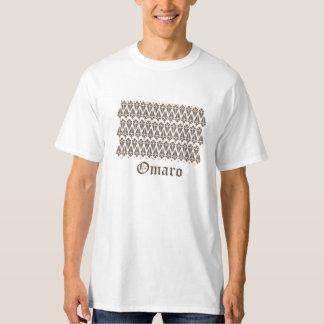 Omaro; diseño simple y viejo camisas