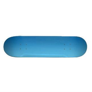 Ombre azul monopatín personalizado