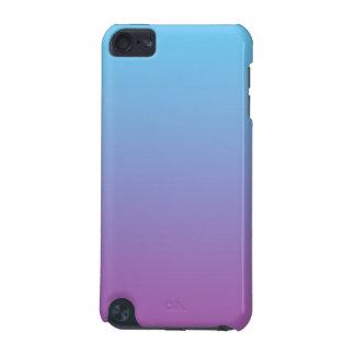 Ombre azul y púrpura carcasa para iPod touch 5G
