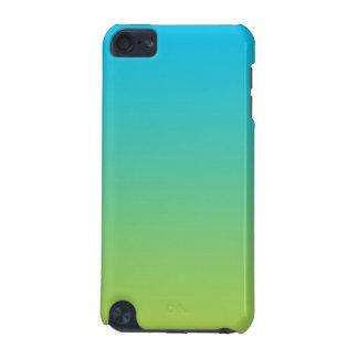 Ombre azul y verde funda para iPod touch 5