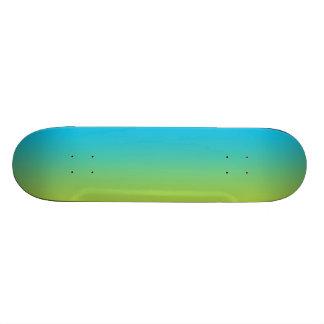 Ombre azul y verde patin