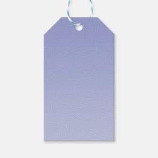 Ombre púrpura pálido etiquetas para regalos