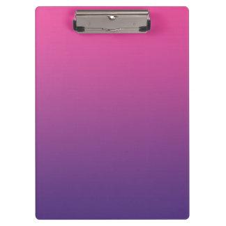 """""""Ombre rosado y púrpura"""""""