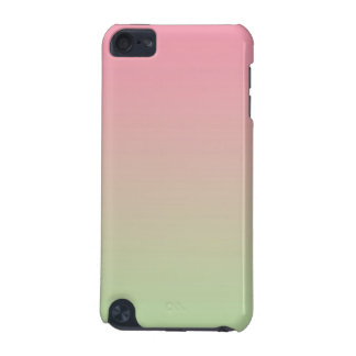 Ombre rosado y verde carcasa para iPod touch 5G