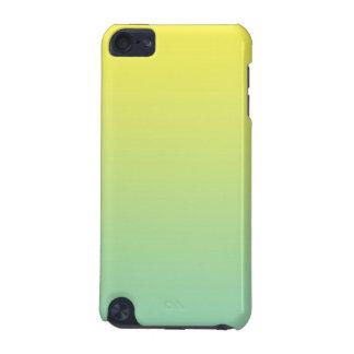 Ombre verde y amarillo funda para iPod touch 5G