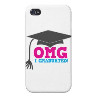 OMG I graduado iPhone 4 Carcasa