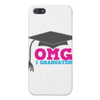 OMG I graduado iPhone 5 Cárcasas