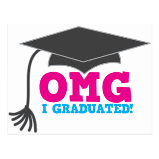 OMG I graduado Postal