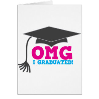OMG I graduado Tarjeton