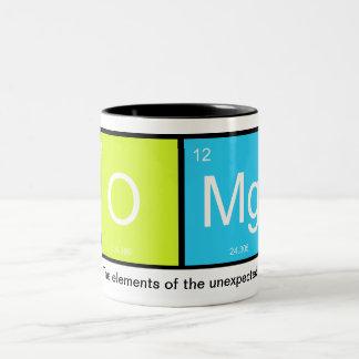 ¡OMg! Los elementos del inesperado - taza