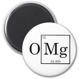 OMG - Magnesio - magnesio - tabla periódica Iman Para Frigorífico