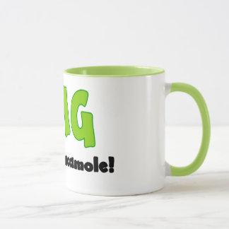 OMG oh mi Guacamole - taza de café divertida