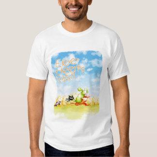 Once gatos de las alegrías camiseta