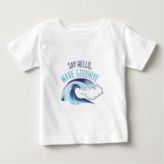 Onda adiós camiseta de bebé