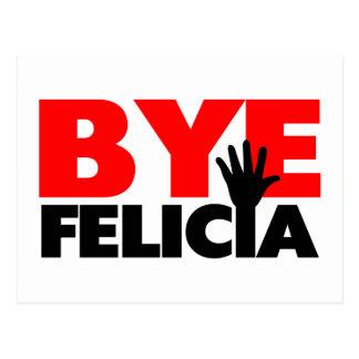 Onda de la mano de Felicia del adiós