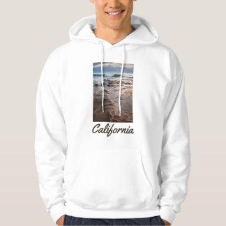 Onda que se rompe en la playa, California Sudadera