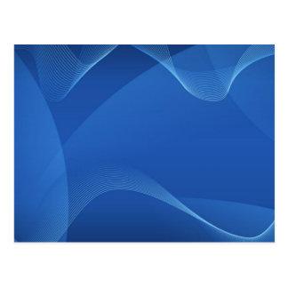Ondas azules postales