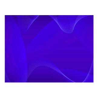 Ondas azules tarjetas postales