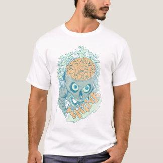 Ondas cerebrales camiseta