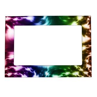 Ondas del arco iris foto de imanes