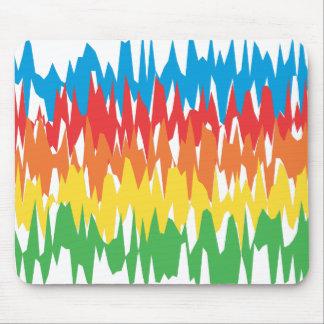 Ondas del color: Ejemplo del vector: Tapete De Raton