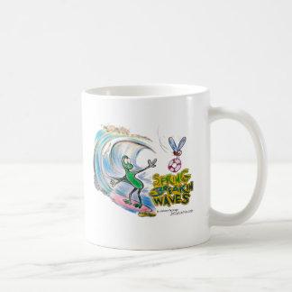 Ondas del robo de la primavera de Durante Taza De Café