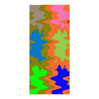 Ondas del triturador de la velocidad - tarjeta publicitaria a todo color