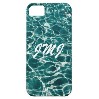 Ondas frescas de la piscina funda para iPhone SE/5/5s