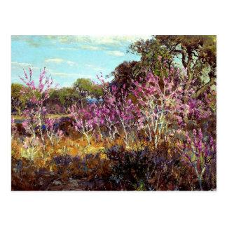 Onderdonk - árbol del capullo de rosa en la postal