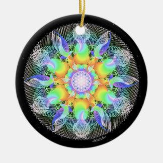 Ondulaciones de la energía de la conciencia/de la adorno de cerámica
