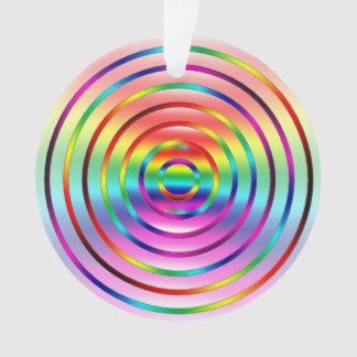 Ondulaciones del arco iris adorno