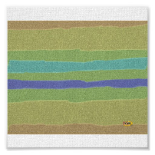 Ondulado-Colorear-Líneas Posters