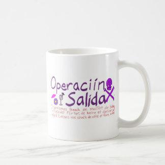Operaciín Salida Taza De Café